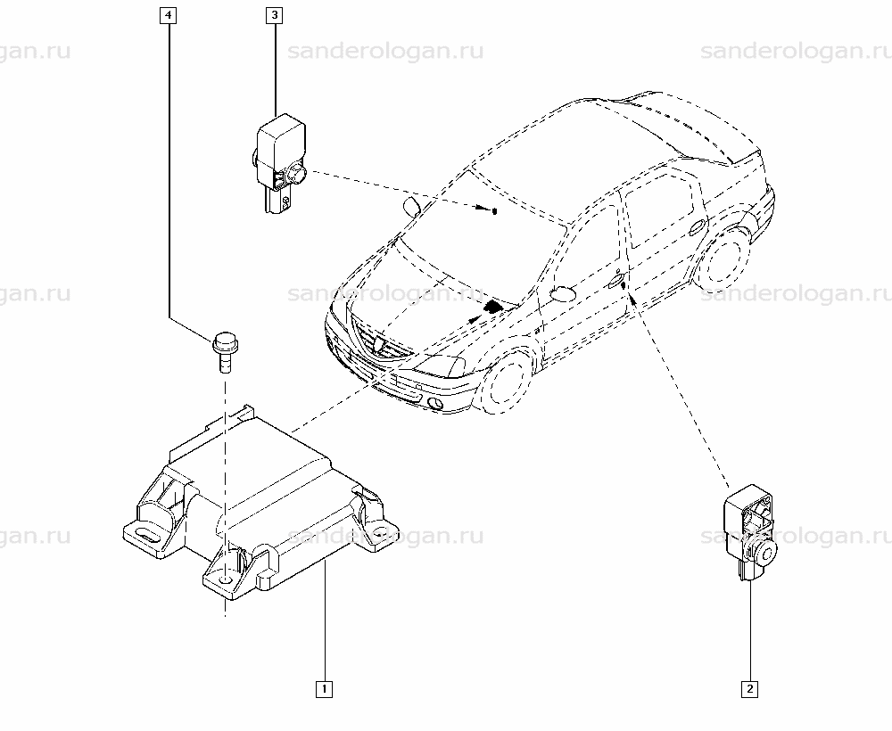 Купить блок управления подушками безопасности для Renault Logan в Москве, продажа блоков управления подушками безопасности для Renault Logan – цены, описание и фото на сайте Авто.ру.