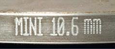 толщина невентилируемого тормозного диска