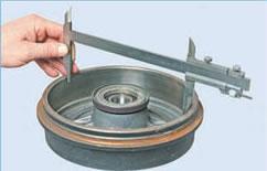 минимально допустимый размер тормозного барабана